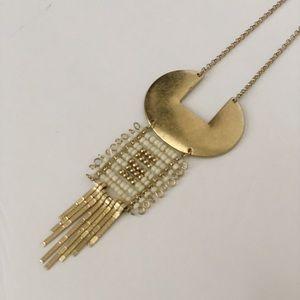 Jewelry - Gold Boho Beaded Necklace